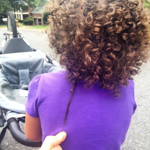 emmie curly stretch