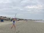 the javelin throw