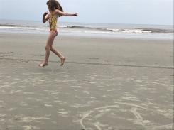 sand skating